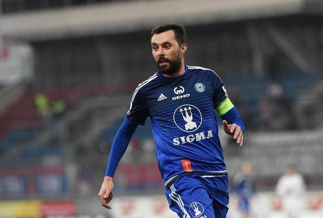 Michal Ordoš v odvetě čtvrtfinále MOl Cupu proti Plzni otevřel skóre.