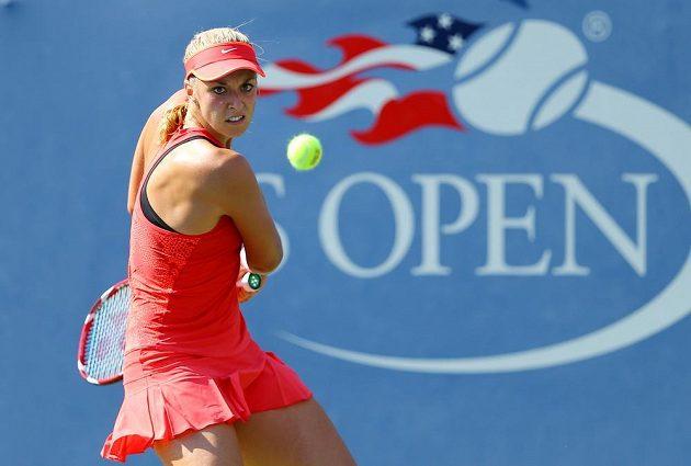 Sabine Lisická v osmifinálovém utkání US Open.