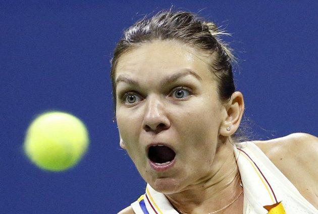 Rumunka Simona Halepová překvapivě končí na US Open hned v 1. kole.