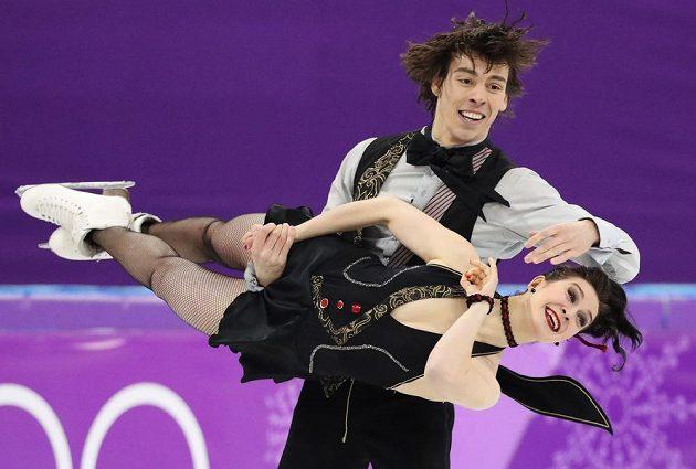 Slovenský taneční pár Lucie Myslivečková - Lukáš Csolley - v akci. Probojoval se mezi dvacítků párů, které tančily o medaile.