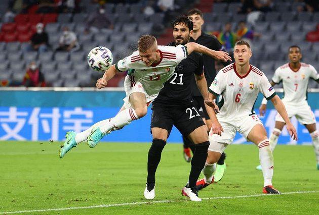 Fotbalisté Německa bojovali ve svém posledním zápase ve skupině s Maďarskem