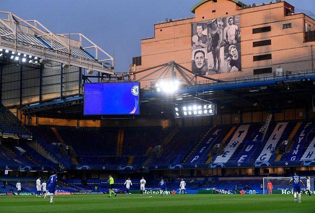 Odvetný zápas Ligy mistrů mezi Chelsea a Realem Madrid