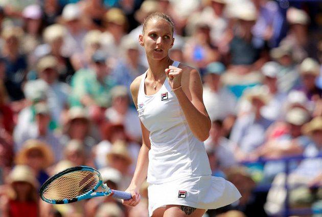 Hurá do finále v Eastbourne. Tenistka Karolína Plíšková potvrdila před Wimbledonem skvělou formu.
