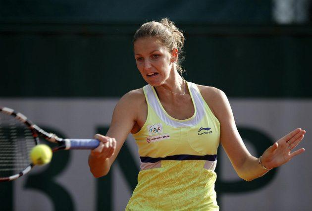 Česká tenistka Karolína Plíšková na úvod French Open nezaváhala.