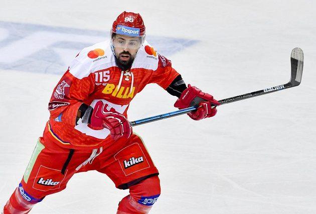Richard Jarůšek ze Sparty během utkání s Plzní.