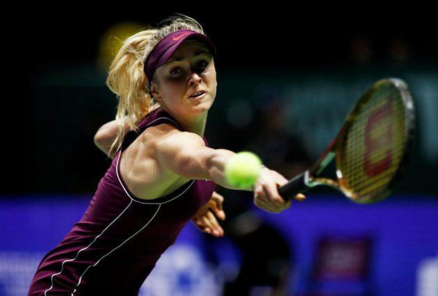Ukrajinka Elina Svitolinová má blízko do semifinále Turnaje mistryň.