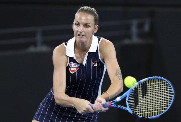 Karolína Plíšková v semifinále turnaje v Brisbane bojuje s Naomi Ósakaovou.