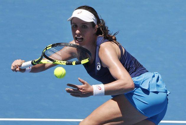 Britská tenistka Johanna Kontaová na Australian Open.
