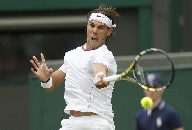 Rafael Nadal v prvním kole Wimbledonu nestačil na Belgičana Steva Darcise.