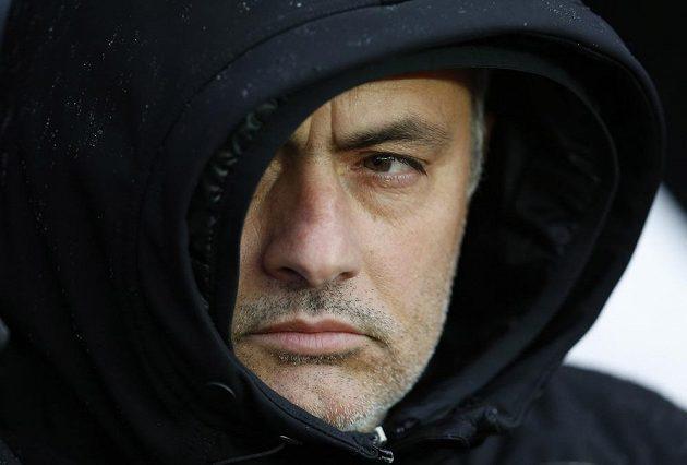 Portugalský kouč José Mourinho.