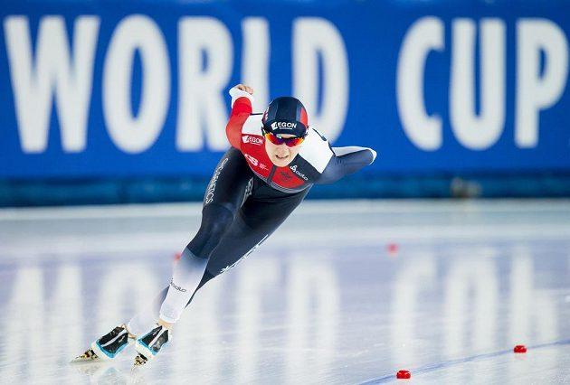 Martina Sáblíková v ruské Kolomně triumfovala v závodu na 3000 metrů.