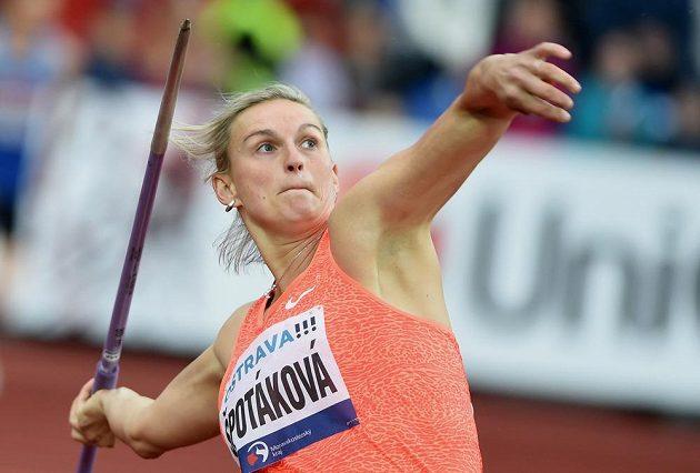 Oštěpařka Barbora Špotáková na Zlaté tretře na stupně vítězů nedosáhla.