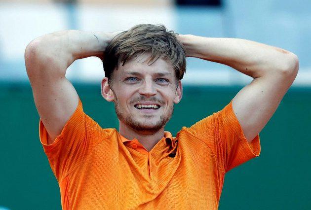 Belgický tenista David Goffin vyřadil na turnaji v Monte Carlu Srba Novaka Djokoviče.