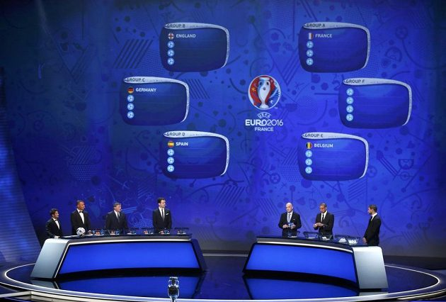 Los EURO 2016 v Paříži.