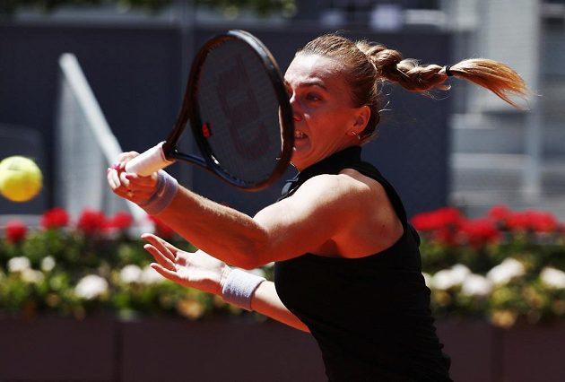 Tenistka Petra Kvitová skončila na antuce v Madridu ve čtvrtfinále po prohře se světovou jedničkou Ashleigh Bartyovou.