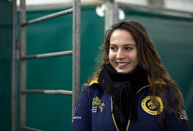 Parkurová jezdkyně Anna Kellnerová