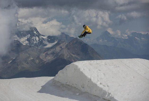 Česká snowboardistka Kateřina Vojáčková.