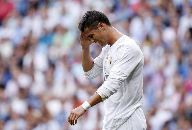 Žádný z fotbalistů se nedokázal proti Málaze prosadit, ani Cristiano Ronaldo.