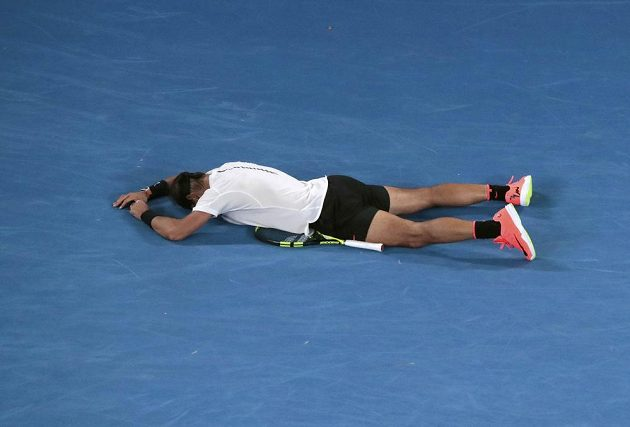 Rafael Nadal právě postoupil do finále.