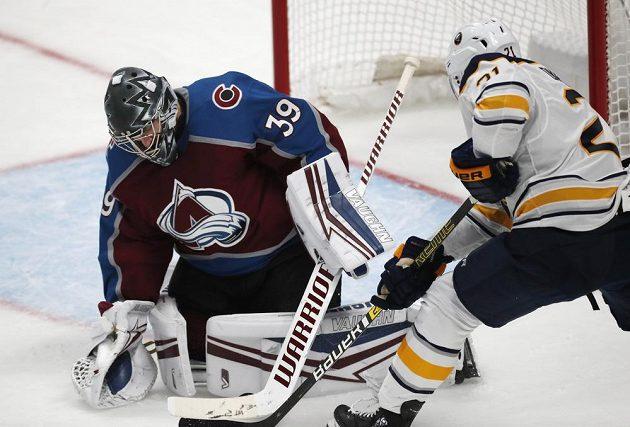Skvělý výkon ukázal v NHL opět brankář Colorada Pavel Francouz.