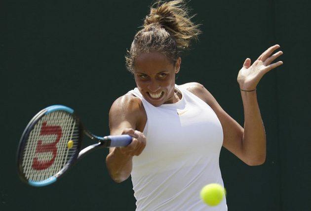 Americká favoritka Madison Keysová překvapivě vypadla ve druhém kole Wimbledonu s Rodinovou