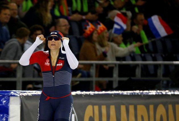 Rychlobruslařka Karolína Erbanová se stala mistryní Evropy ve sprintu.