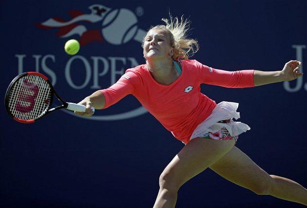 Kateřina Siniaková na letošním US Open.