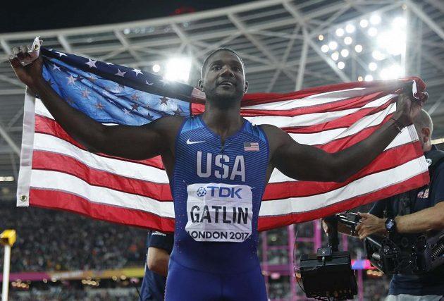 Boltův nástupce Justin Gatlin.