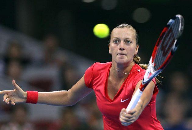 Petra Kvitová na turnaji v Pekingu postoupila do semifinále.