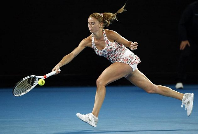Kamila Giorgiová na českou tenistku nestačila