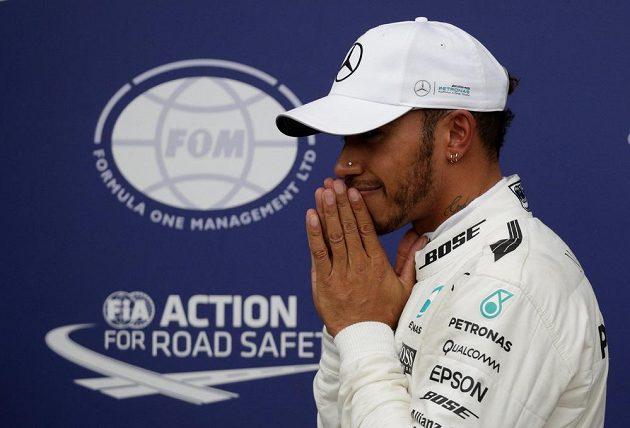 Lewis Hamilton ovládl kvalifikaci na GP Itálie.