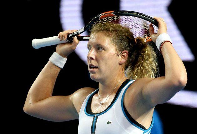 Německá tenistka Anna-Lena Friedsamová na Australian Open překvapivě vyřadila Robertu Vinciovou.