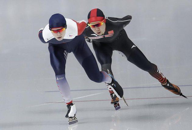 Nikola Zdráhalová na olympijské trati 3000 metrů.
