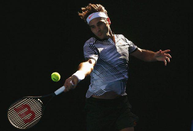 Roger Federer a jeho mistrovský tenis v Austrálii, ve třetím kole ho pozná i Tomáš Berdych.