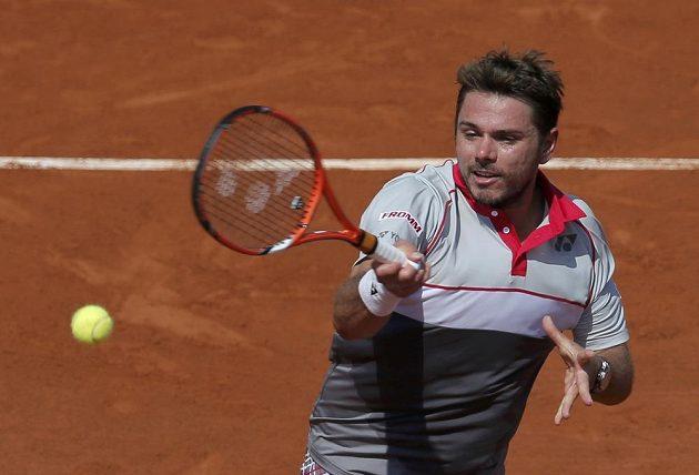 Švýcarský tenista Stan Wawrinka v semifinále Roland Garros.
