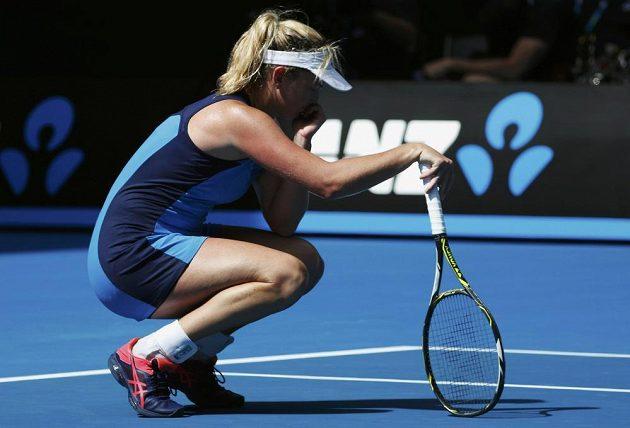 Americká tenistka Coco Vandewegheová v semifinále Australian Open.