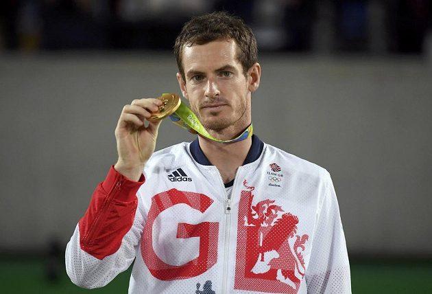 Brit Andy Murray nenašel na OH v Riu přemožitele a získal zlatou medaili.