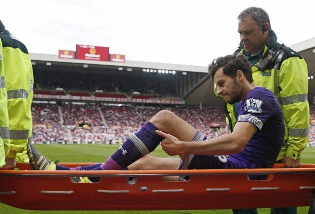 Ryan Mason z Tottenhamu se zranil přitom, kdy dal gól proti Sunderlandu.