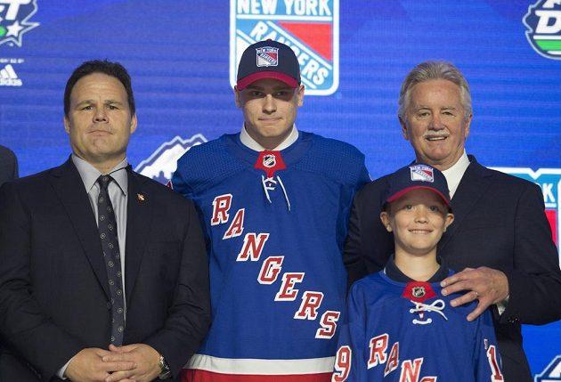 Navzdory stoupající formě s koncem sezony se Kaapo Kakko neprosadil do čela draftu. Ze druhé pozice tak finský talent putuje do New Yorku Rangers.