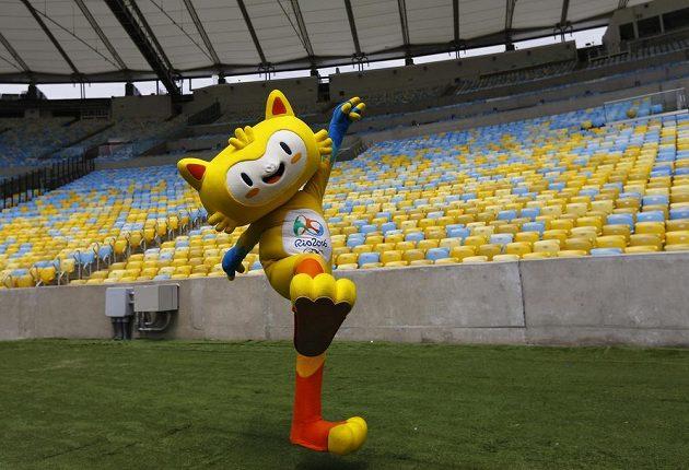 Jeden ze dvou maskotů olympijských her v Brazílii dostal jméno Vincius.