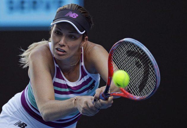Nezastavitelná Američanka Danielle Collinsová je už v semifinále tenisového Australian Open.