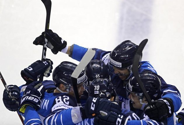 Finští hokejisté šli do vedení již v první minutě