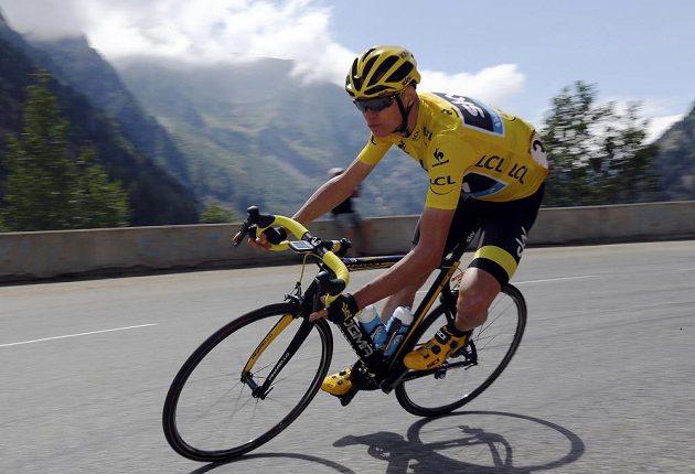 Chris Froome uhájil žlutý trikot i po 20. etapě.