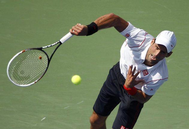 Srbský tenista Novak Djokovič neměl s postupem problém.