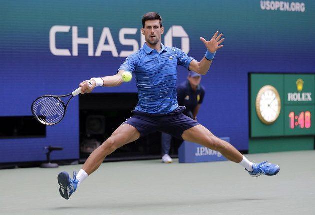 Srbský tenista Novak Djokovič na startu US Open nezaváhal.