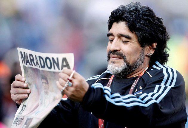 Zesnulý Diego Maradona vedl v minulosti i argentinskou fotbalovou reprezentaci na mistrovství světa 2010.