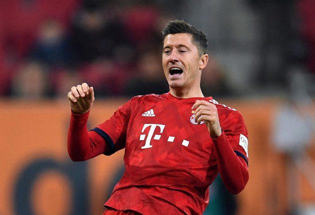 Kanonýr Bayernu Mnichov Robert Lewandowski prožívá každý zápas a zvláště pak ty, kdy se mu v koncovce tolik nedaří.