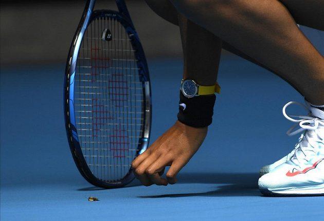 Naomi Ósakaová na Australian Open chytala můru.