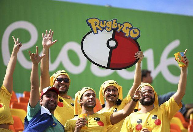 Pikaču vyjádřil podporu Brazilcům. A to prý v Riu nejsou příznivé podmínky pro chytání pokémonů...