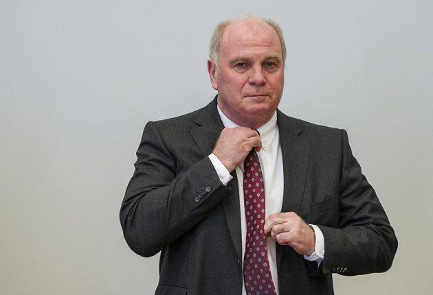 Prezident Bayernu Uli Hoeness.